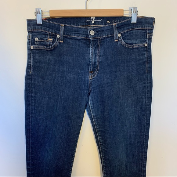 7 For All Mankind Women Size 31 Jeans The Skinny
